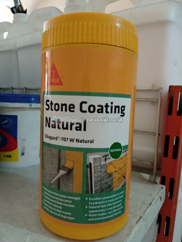 Sikagard 707 W/700S/Lapisan pelindung batu alam dan beton (1kg)