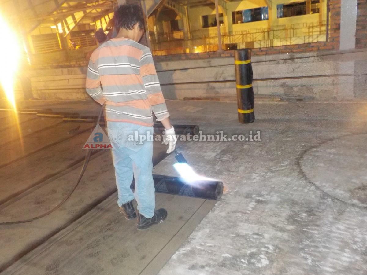 Waterproofing Membrane Torching ( Membrane Bakar )