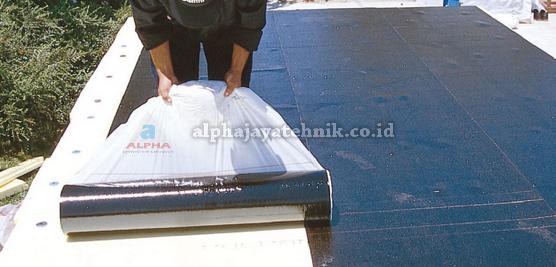 Waterproofing Membrane Selv Adhesive ( Membrane Tempel )